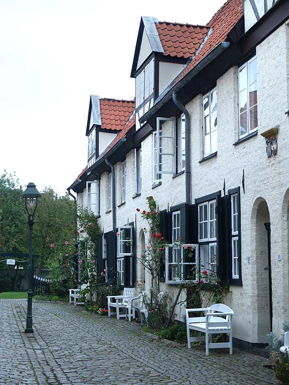 Glandorps Hof  einer der ältesten Lübecker GangHöfe, Lübeck